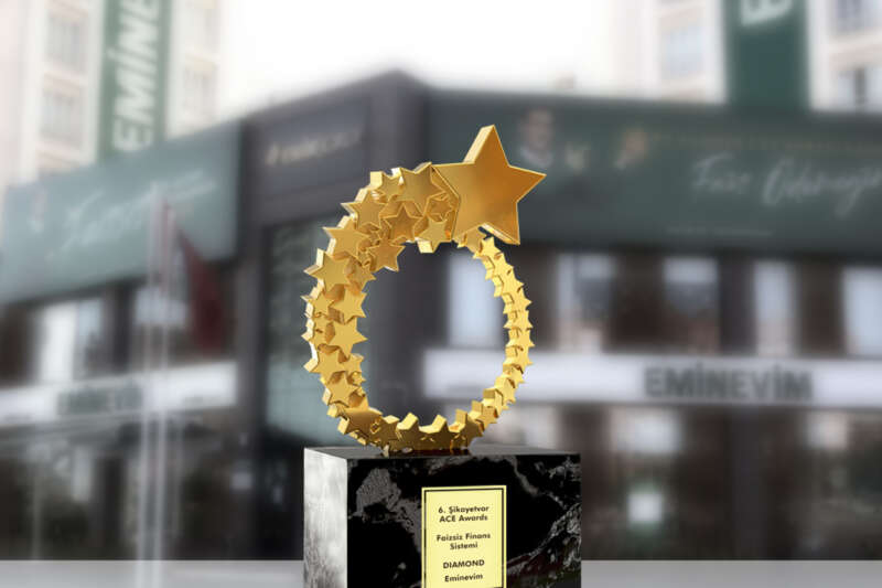 'Müşteri Deneyiminde Mükemmellik Ödülü' Eminevim'in oldu