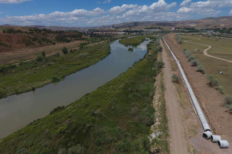 Türkiye'nin en uzun nehri turizme kazandırılıyor