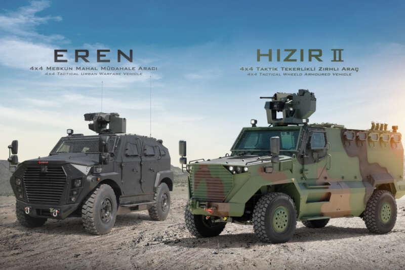EREN ve HIZIR II ilk kez IDEF'21'de sergileniyor