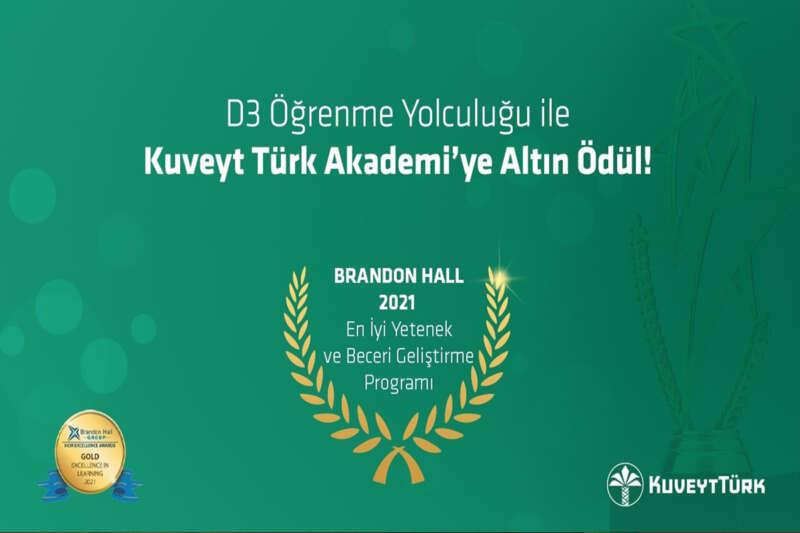 Kuveyt Türk'ün 'Denetim Danışmanlık Dönüşüm' programına altın ödül