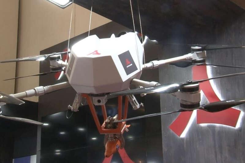 Milli silahlı drone sistemi 'Songar' tüm versiyonlarıyla İDEF21'de