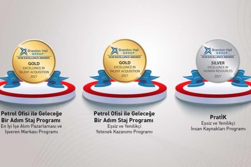 Petrol Ofisi'ne 3 ödül birden