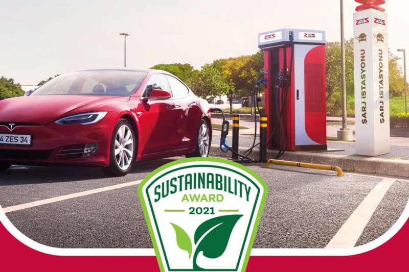 ZES, 'Yılın Sürdürülebilirlik Ürünü' ödülünün sahibi oldu