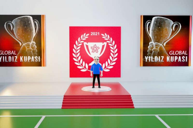 Yıldız Holding'in dört kıtadan 2 bin 500 çalışanı 'Global Yıldız Kupası'nda yarıştı